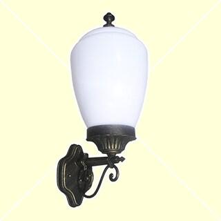 eTopLighting Gorgeous Golden Black Exterior Light Fixture - Wall Lantern, OS0040