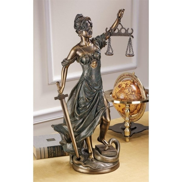 Design Toscano Goddess of Justice: Themis Statue: Large