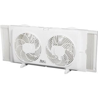 """Hipp Hardware Plus 7"""" Twin Window Fan CHW-5100 Unit: EACH"""