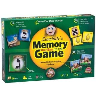 "Kisrei Alef Bais Memory 2.25"" x 2.25"" - 99 Cards game - English/Loshon Kodesh"