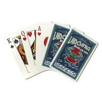 VA - Blue Crabs Vintage Sign - LP Artwork (Poker Playing Cards Deck)