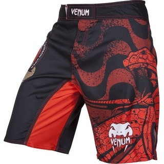 Venum Crimson Viper MMA Fight Shorts - Black/Red