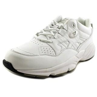Propet Stability Walker Men S Round Toe Synthetic Nude Walking Shoe