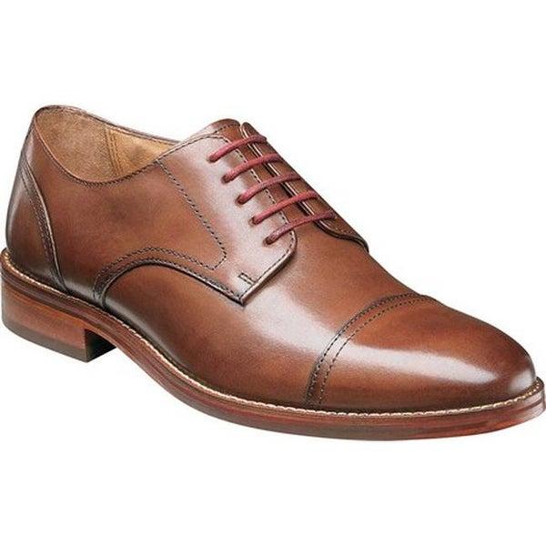 930b46f5213 Shop Florsheim Men's Salerno Cap Toe Oxford Cognac Smooth Leather ...