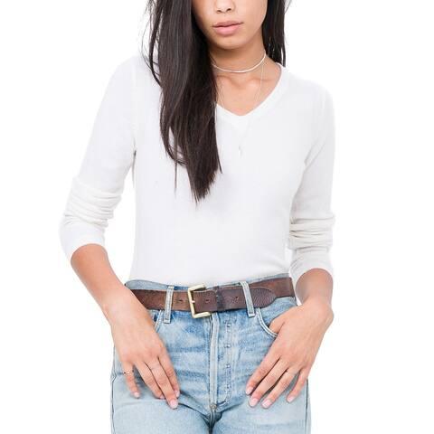 Quinn Essential Cashmere V-Neck Sweater