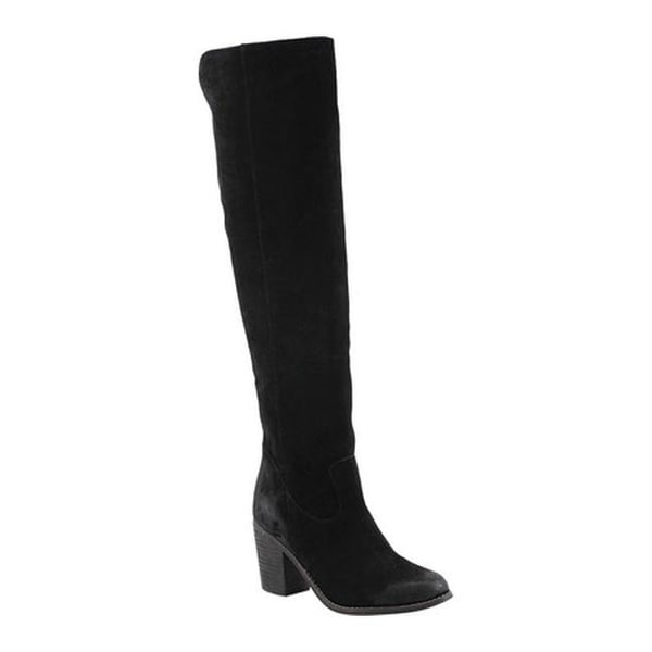 67196ce5fbdb3c Shop Diba True Women s Leg Up Knee High Boot Black Suede - Free ...