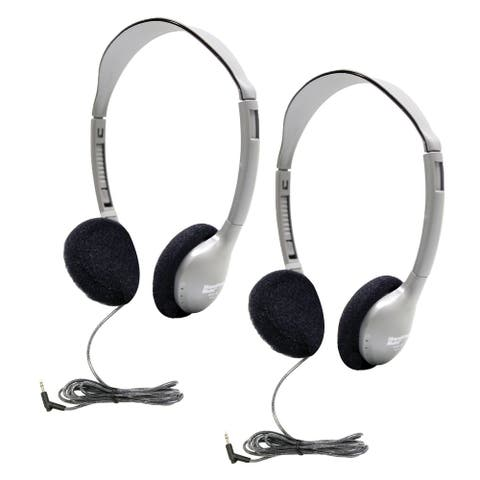 Personal On-Ear Stereo Headphone, Pack of 2