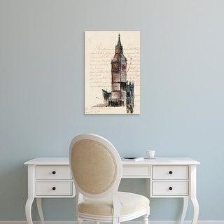 Easy Art Prints Melissa Wang's 'Letters from Big Ben' Premium Canvas Art