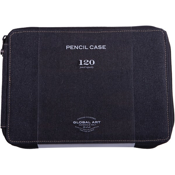 Canvas Pencil Case Holds 120