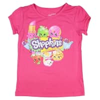 Shopkins Little Girls' Once You Shop You Can't Stop T-Shirt