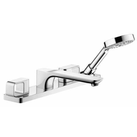 Axor 11446 Urquiola Deck Mounted Roman Tub with Built-In Diverter -