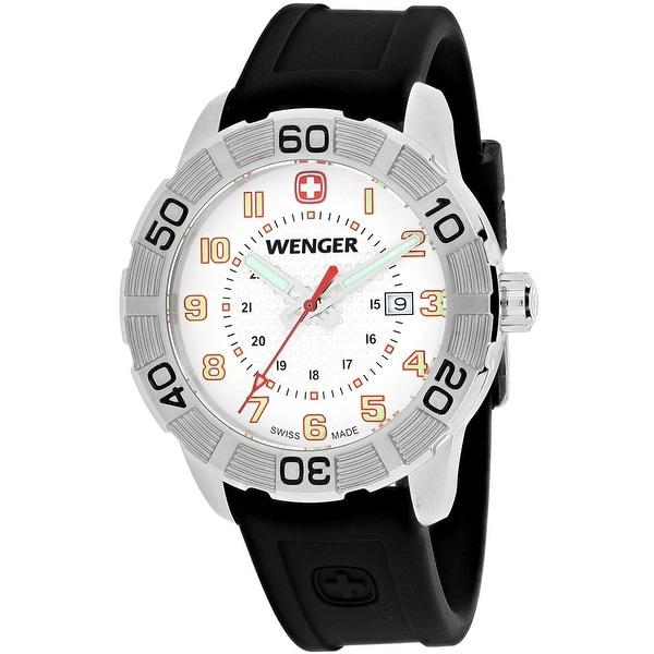 Shop Wenger Men S Roadster 01 0851 104 White Dial Watch
