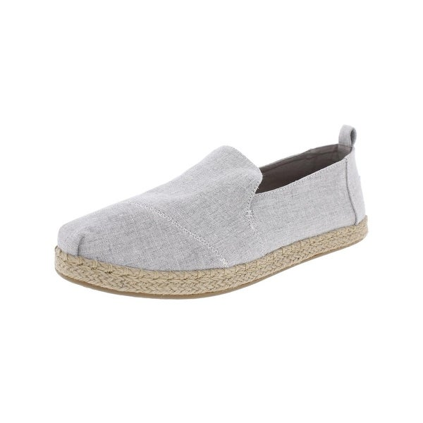 Toms Womens Alpargata Loafers Heathered Casual