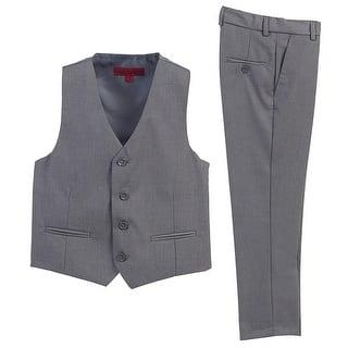 Boys Gray Vest Pants Special Occasion 2 Pcs Outfit Set 8-12 https://ak1.ostkcdn.com/images/products/is/images/direct/fe848986043daa57f9471f670dec12d44821b94c/Boys-Gray-Vest-Pants-Special-Occasion-2-Pcs-Outfit-Set-8-12.jpg?impolicy=medium