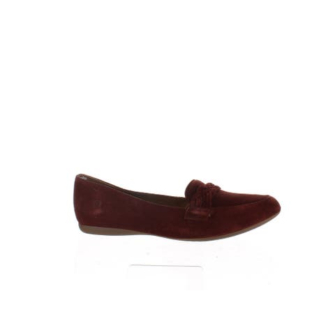 Born Womens Mirror Brown Loafers Size 8.5