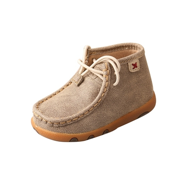 Twisted X Casual Shoes Boys Driving Mocs Infants Dusty Tan