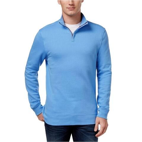 Club Room Mens Quarter-Zip Sweatshirt
