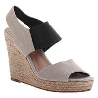 Madeline Women's Meryl Wedge Sandal Bone Textile