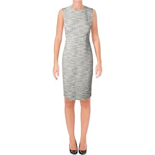 Theory Womens Eano Wear to Work Dress Textured Marled