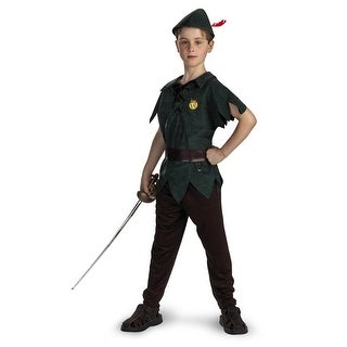 Disguise Disney Peter Pan Classic Child Costume - Green