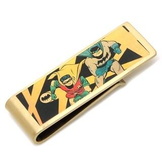 Cufflinks Inc Men's Vintage Batman and Robin Money Clip