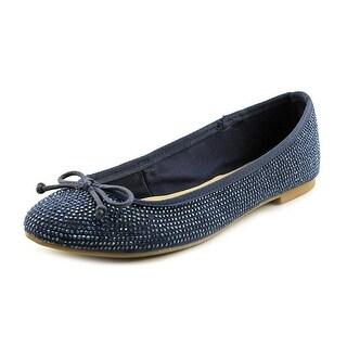 INC International Concepts Pamila Women Round Toe Synthetic Blue Flats