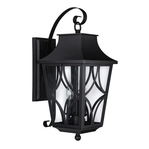 "Park Harbor PHEL1402 Altimeter 10"" Wide 3 Light Outdoor Wall Sconce"