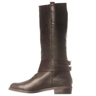 JFab Cameron Riding Boots - Brown