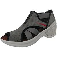 Women's Bzees, Krave Mid Heel Sandals - grey perf