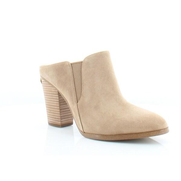 Michael Kors Braden Mules Women's Boots Cashew