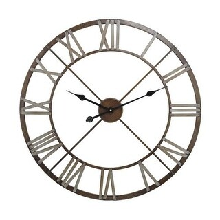 Sterling Industries 171-012 Open Center Iron Wall Clock