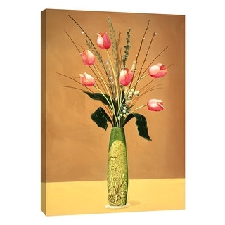 """PTM Images 9-105329  PTM Canvas Collection 10"""" x 8"""" - """"Perfect Arrangement II"""" Giclee Flowers Art Print on Canvas"""