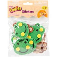 Frogs & Monkeys - Felties Stickers 16/Pkg