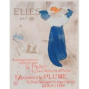 ''Elles'' by Henri de Toulouse-Lautrec Museum Art Print (28.75 x 21.5 in.)