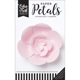 Small Light Pink Peony - Echo Park Paper Petals