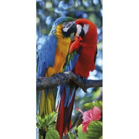 Macaws 30x60 Brazilian Velour Beach Towel