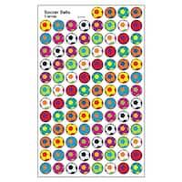 Soccer Balls Superspots Stickers