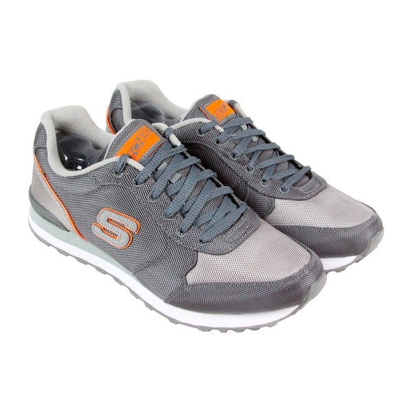 f555eb2b6cdd3 Shop Skechers Og 85 - Vannett Mens Gray Textile Athletic Lace Up ...