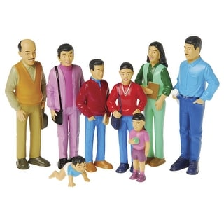 Marvel Education Play Figures, Hispanic Family, Vinyl, Set of 8