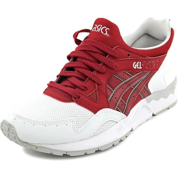 Asics Gel-Lyte V Men Round Toe Synthetic Red Running Shoe