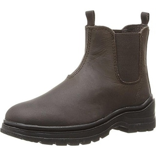 Umi Girls Reeves Leather Toddler Chelsea Boots - 10