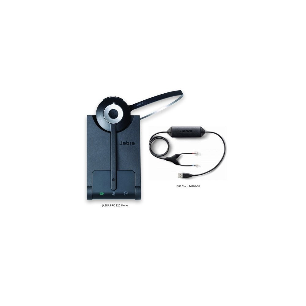 Shop Pro 920 With Ehs Cisco 14201 30 Jabra Pro 920 Mono Wireless Headset Free Shipping Today Overstock 20892327