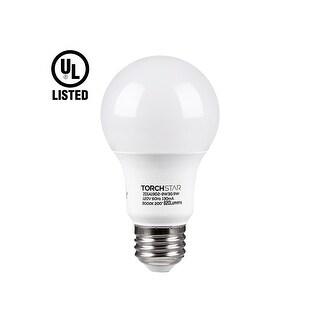 1 PACK/6 PACK UL-listed 9W A19 LED Light Bulb, E26/E27 Base, 820lm