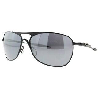 OAKLEY Aviator CROSSHAIR Men's OO4060-03 Matte Black Black Iridium Sunglasses - 61mm-15mm-127mm