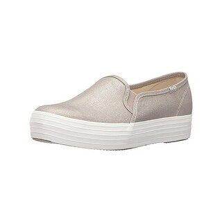 Keds Womens Triple Deck Met Fashion Sneakers Platforms Ortholite