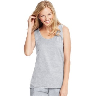 Hanes Live.Love.Color®; Scoop Neck Tank - Size - L - Color - Light Steel