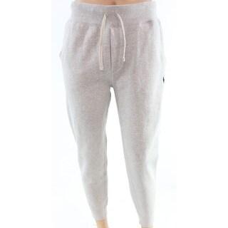 Polo Ralph Lauren NEW Light Gray Heather Mens XL Jogger Fleece Pants