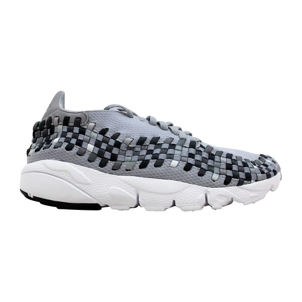 best service 80d6c 30549 Nike Air Footscape Woven NM Wolf Grey Black-Dark Grey 875797-004 Men