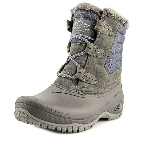 The North Face Shellista II Shorty Women Round Toe Synthetic Gray Snow Boot