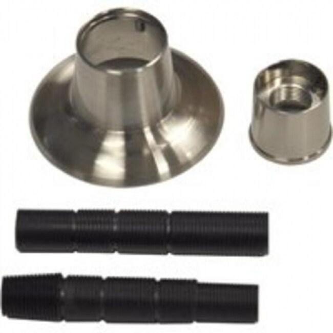 Danco 10313 Universal Adjustable Flange And Nipple, Brushed Nickel